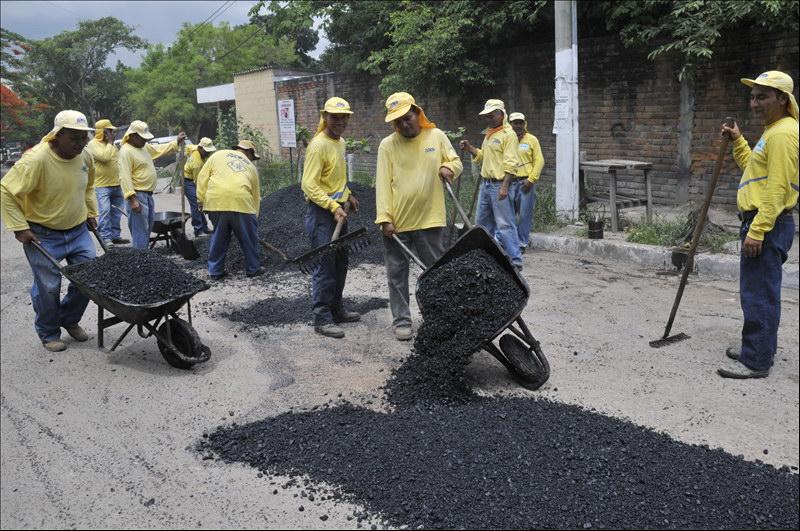 MOP bachea importantes rutas de San Salvador, Mejicanos, Soyapango y Antiguo Cuscatlán