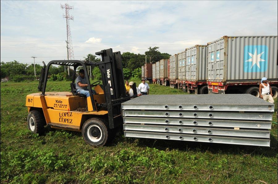 MOP avanza en proceso instalación puentes modulares en sustitución a colapsados por Tormenta Ida