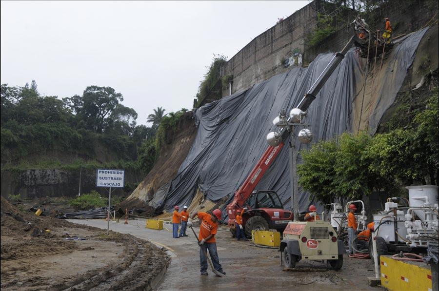 Se incrementa a 414 los deslizamientos de tierra provocados por las lluvias a nivel nacional