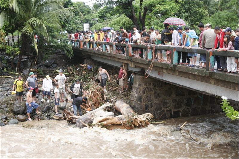 MOP registra daños en ocho puentes a consecuencia de últimas lluvias