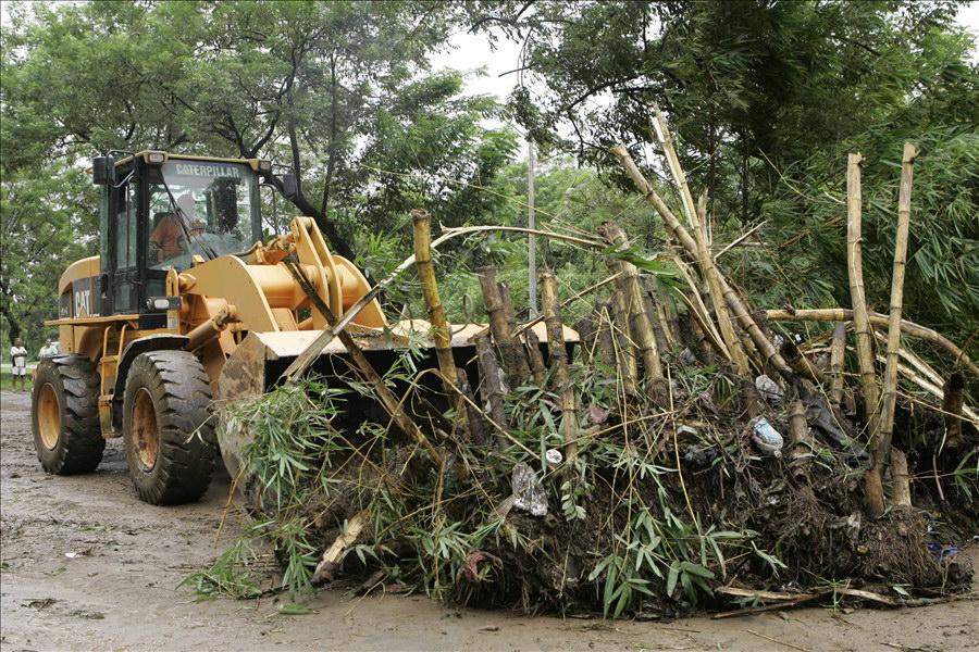 MOP atiende emergencia por lluvias