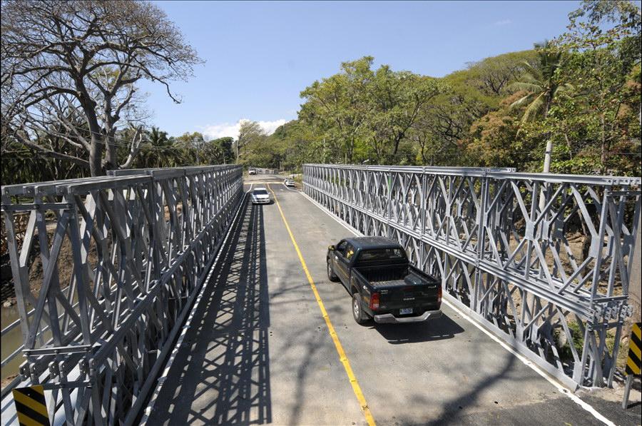 MOP habilita paso sobre Puente Shutía, Jayaque, La Libertad