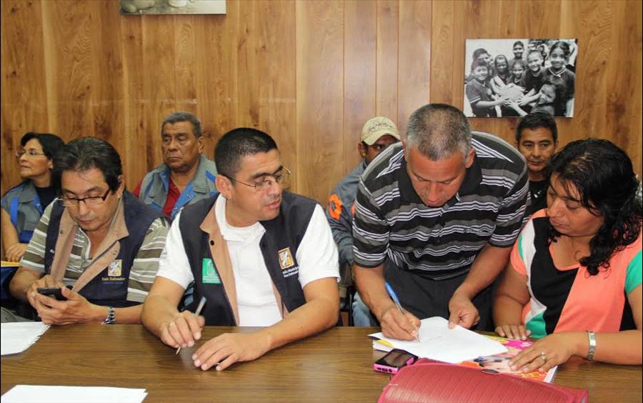 MOP en acuerdo ante Procuraduría Derechos Humanos se mantiene firme en buscar solución a problematica en Comunidad La Isla