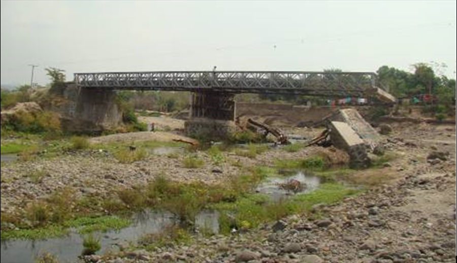 MOP inicia construcción de Puente Tihuapa, en Carretera El Litoral, Cantón Cangrejera, La Libertad