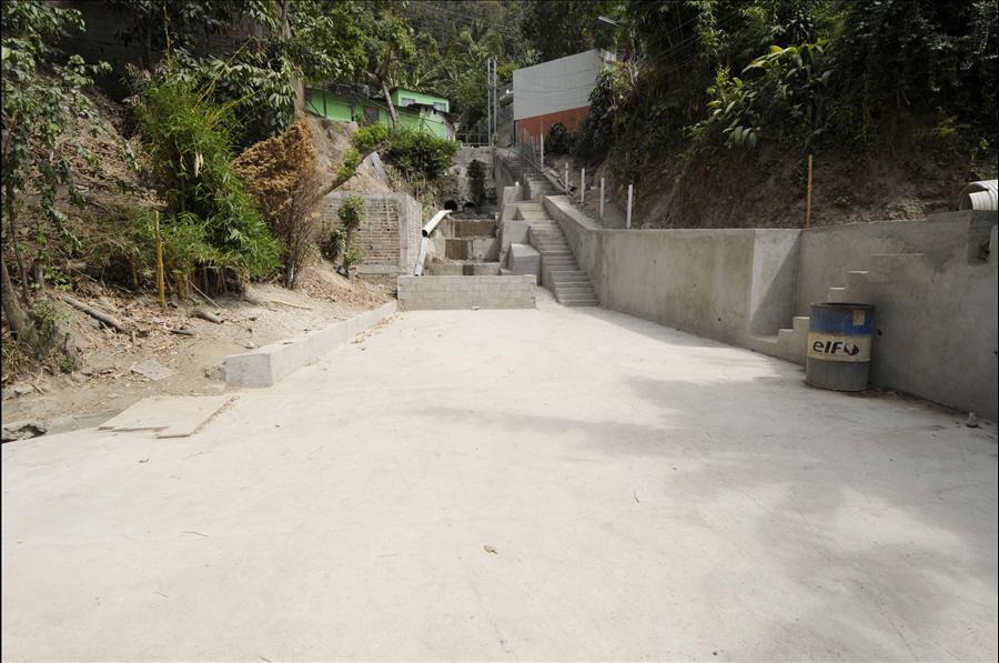 MOP por finalizar construcción de área recreativa en Colonia México
