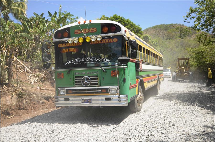 MOP avanza en la pavimentación de ruta Nueva Trinidad-Arcatao