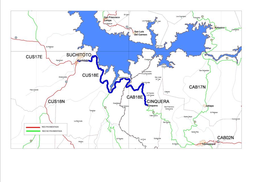 MOP por iniciar la Etapa II de mejoramiento de la carretera Suchitoto-Cinquera