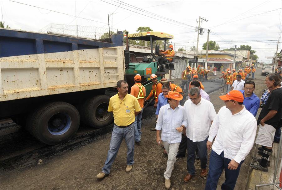 FOVIAL invierte más de $3.3 millones en el Departamento de San Miguel