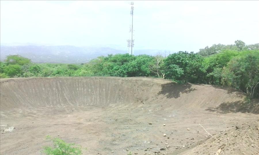 MOP realiza limpieza y ampliación de obras de protección en Volcán Chaparrastique, San Miguel
