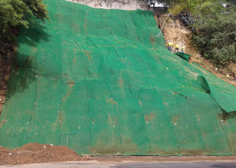 MOP por concluir obras de protección en Talud Norte de Colonia Bello San Juan Planes de Renderos, San Salvador