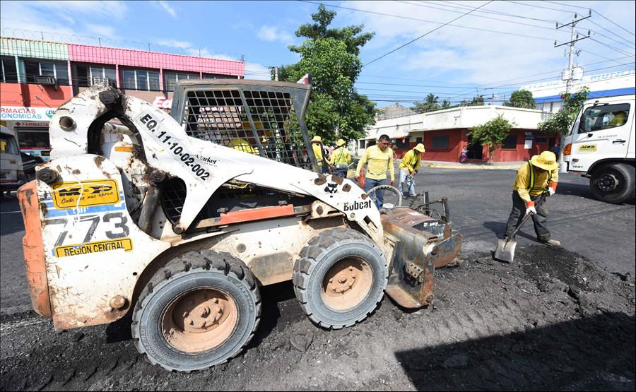 MOP continúa con plan de recuperación de vías dañadas por lluvias