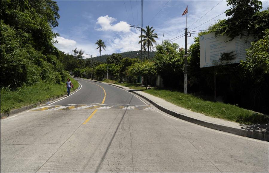 MOP habilita paso por calle El Guaje, tras concluir construcción de colector en Colonia El Matazano, Ilopango, San Salvador