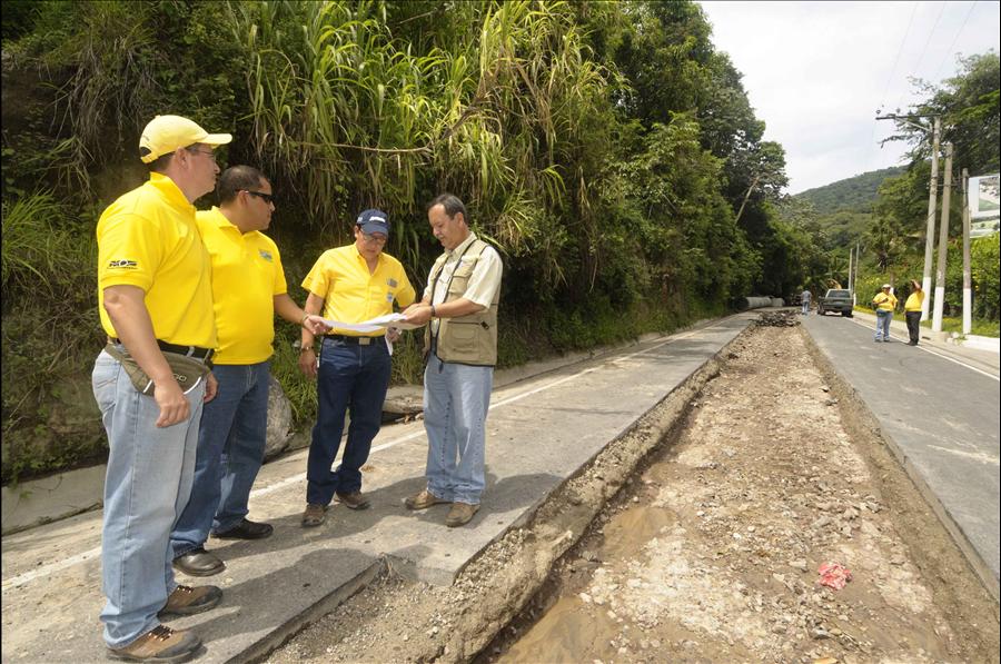 MOP por concluir construcción de colector en Colonia El Matazano, Ilopango, San Salvador