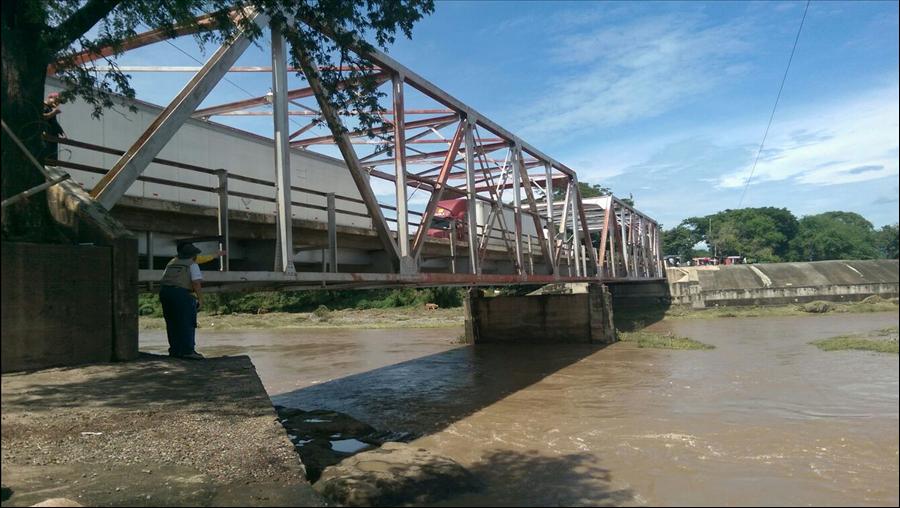 MOP realiza inspección de Puente Arce, Frontera La Hachadura, Ahuachapán