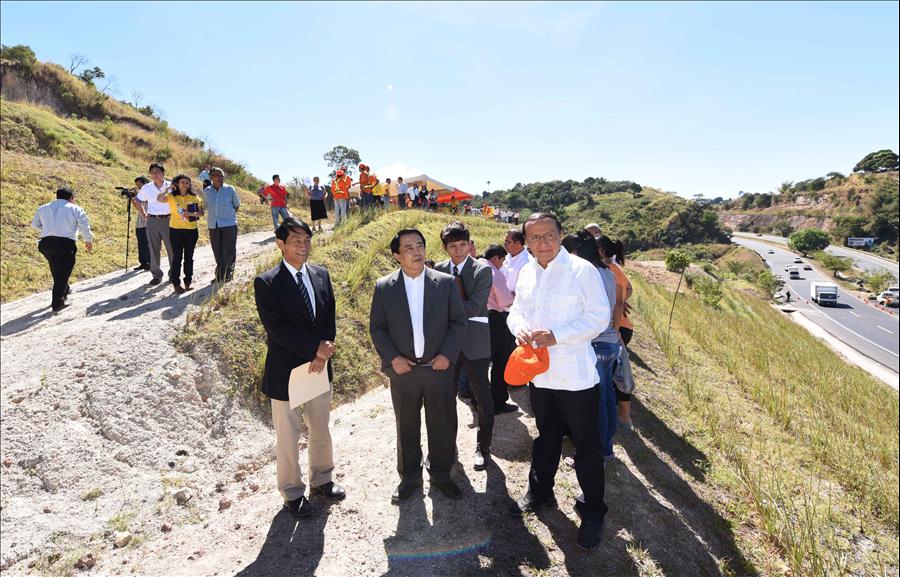 MOP entrega obras de protección en deslizamiento en Km 18.5, Carretera Panamericana