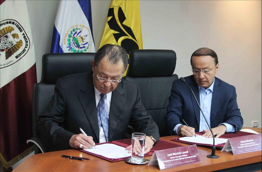 MOP y UTEC firman convenio para construcción de Monumento a la Fe