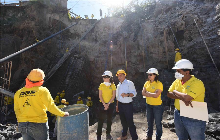 MOP avanza en construcción obras de protección por cárcava en
