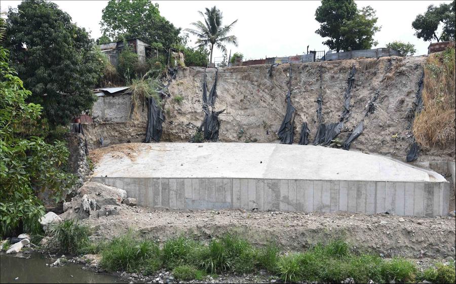 MOP entrega obras de protección Colonia Las Margaritas, San Jacinto