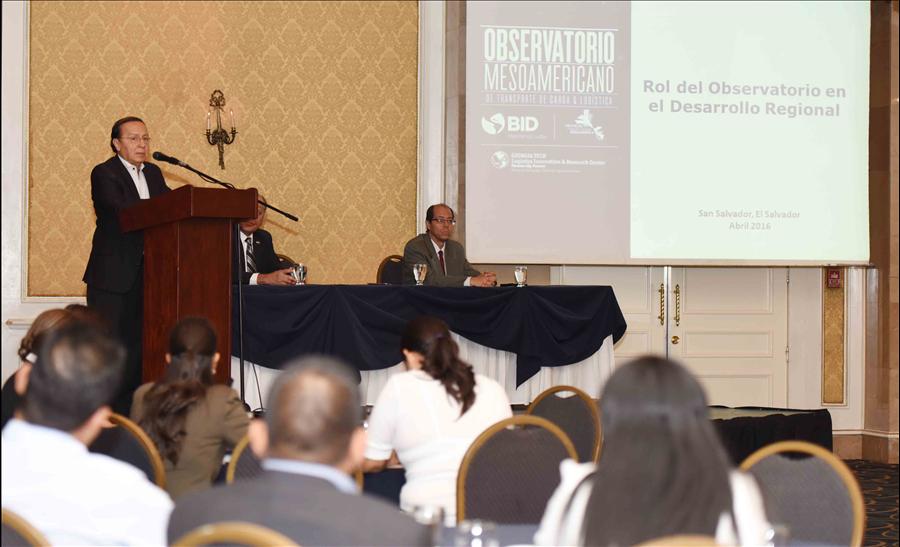 "MOP participa en taller ""Observatorio Mesoamericano de Transporte de Carga y Logística"""
