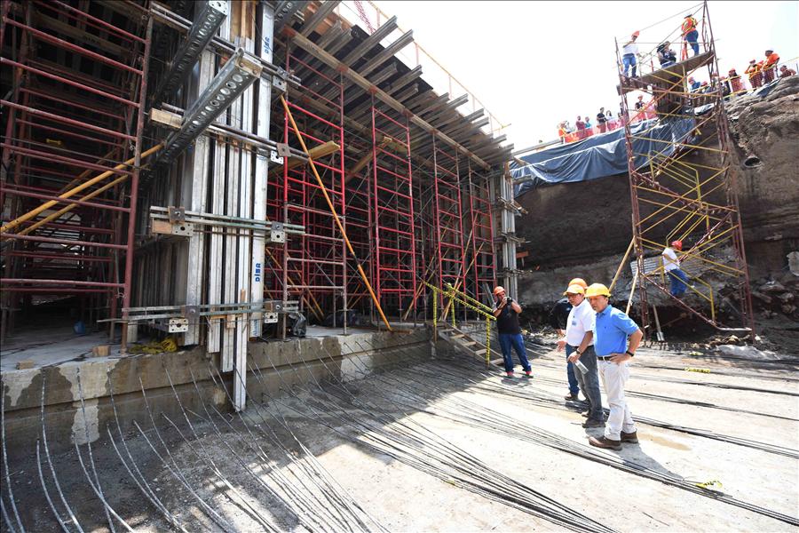 Avanzan obras en nuevo Túnel Masferrer