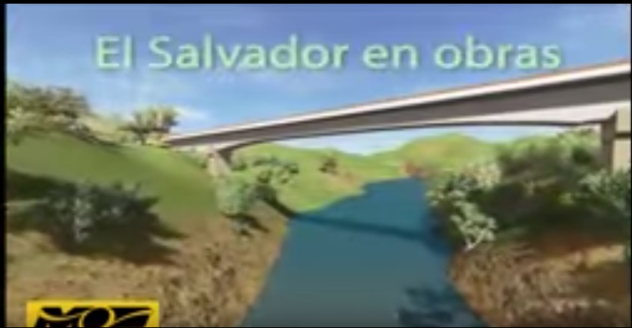 MOP inicia construcción de Puente San Isidro que conecta a los departamentos de La Libertad y Chalatenango