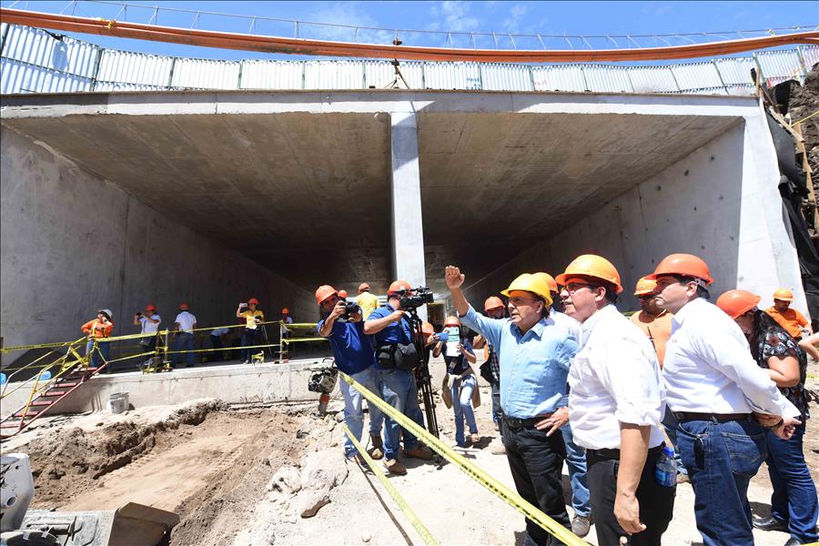 52 % de avance en nuevo túnel Masferrer