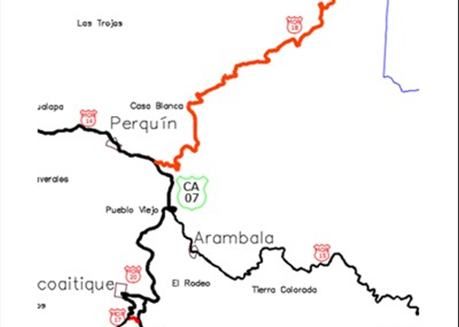 MOP inicia proceso licitación para mejoramiento de Tramo Cantón Caserío Tejera-Paso El Mono- Arambala, Morazán