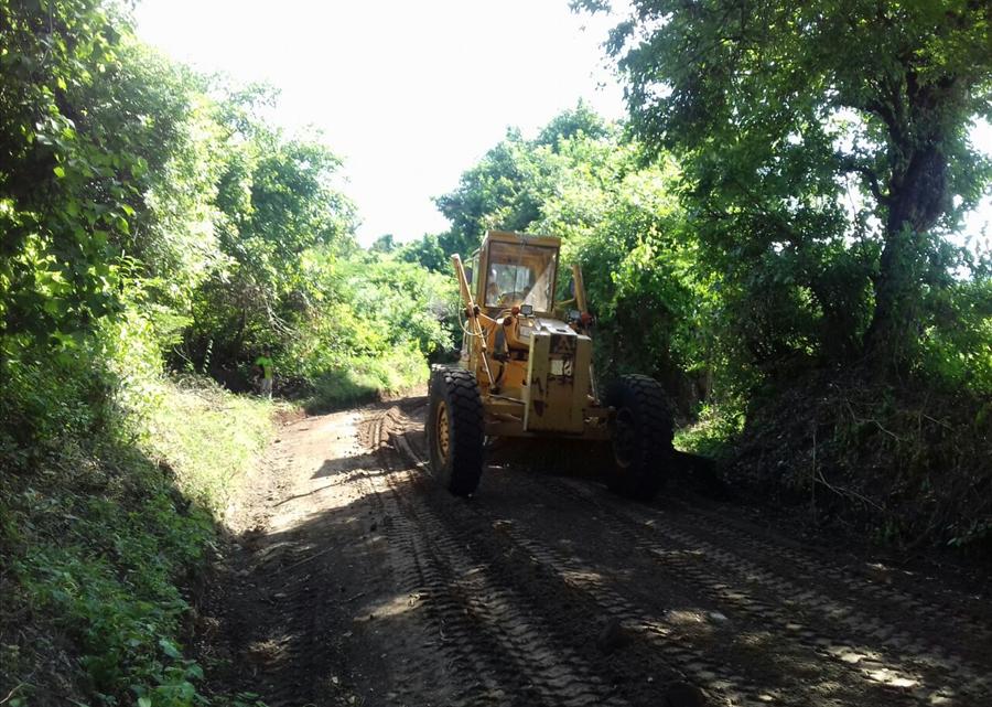 MOP mejora 8.3 kilómetros de calle a Estanzuelas, Usulután