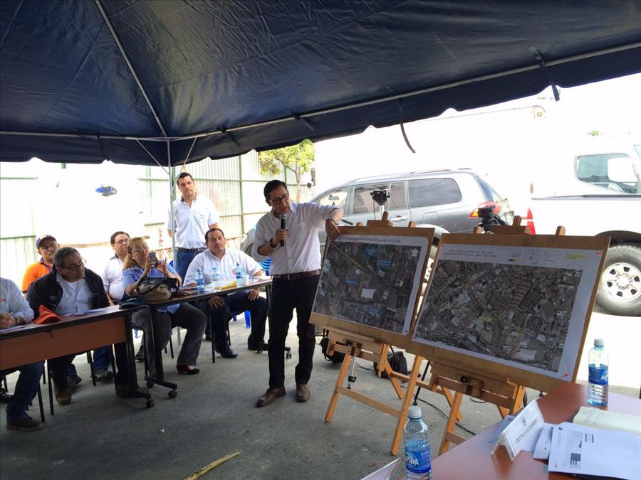 Aprueban fondos de emergencia para obras de protección en  bóveda Bulevar Tutunichapa, San Salvador