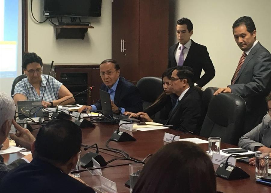 MOP acude nuevamente a Asamblea Legislativa a explicar uso de fondos para Programa de Mejoramiento del Corredor Pacifico Mesoamericano