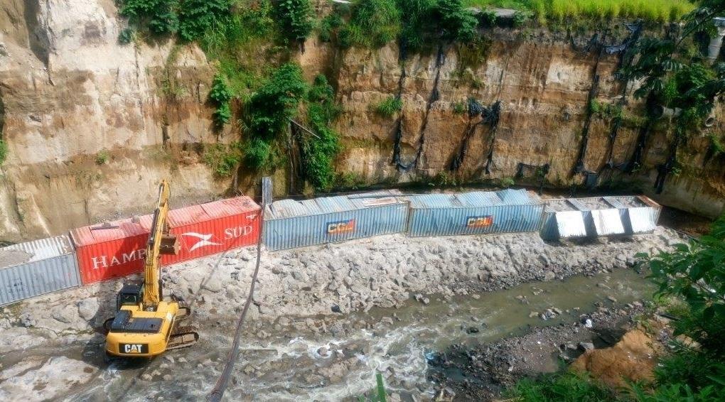Avanza construcción obras de protección en Comunidad La Isla I