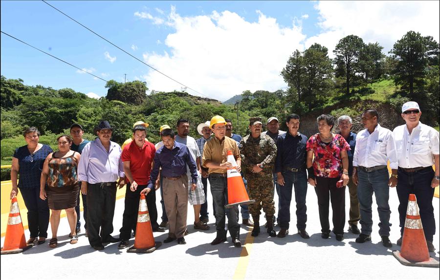 MOP habilita Puente La Palma-Citalá, Chalatenango