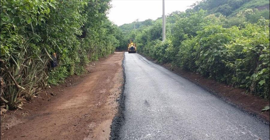 MOP inicia pavimentación de 2.1 kilómetros de calles de Mercedes Umaña, Usulután