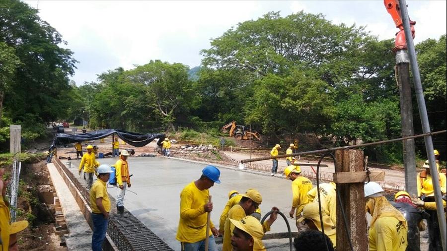 MOP por concluir construcción Puente Chapeltique, San Miguel