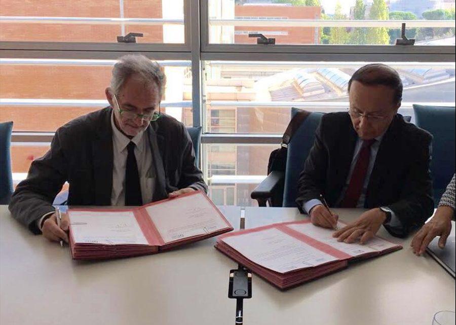 MOP suscribe acuerdo de cooperación científico técnico con Universidad italiana, Roma Tre