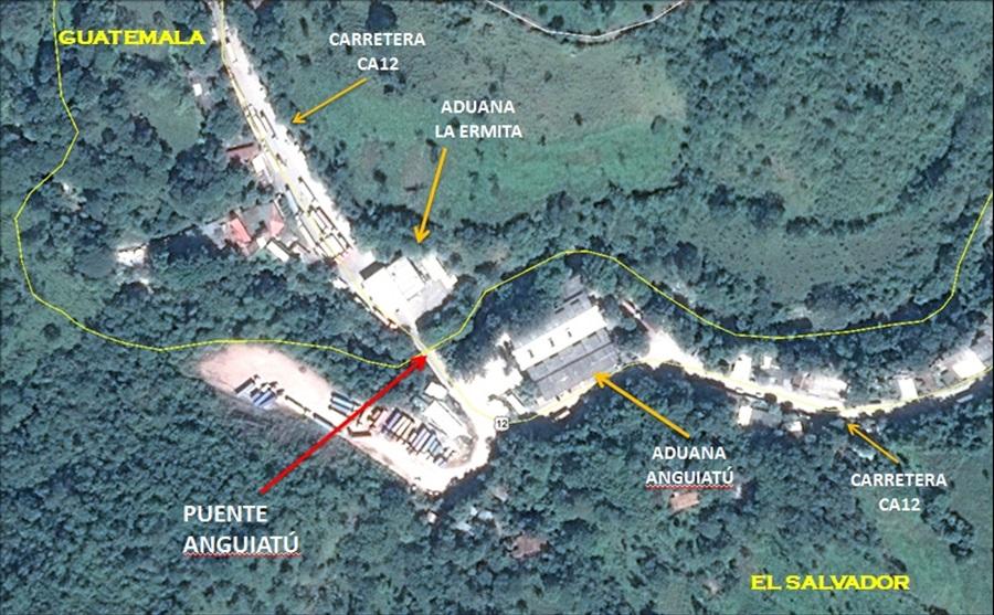 MOP inicia proceso de licitación para diseño, construcción y supervisión Puente fronterizo Anguiatú