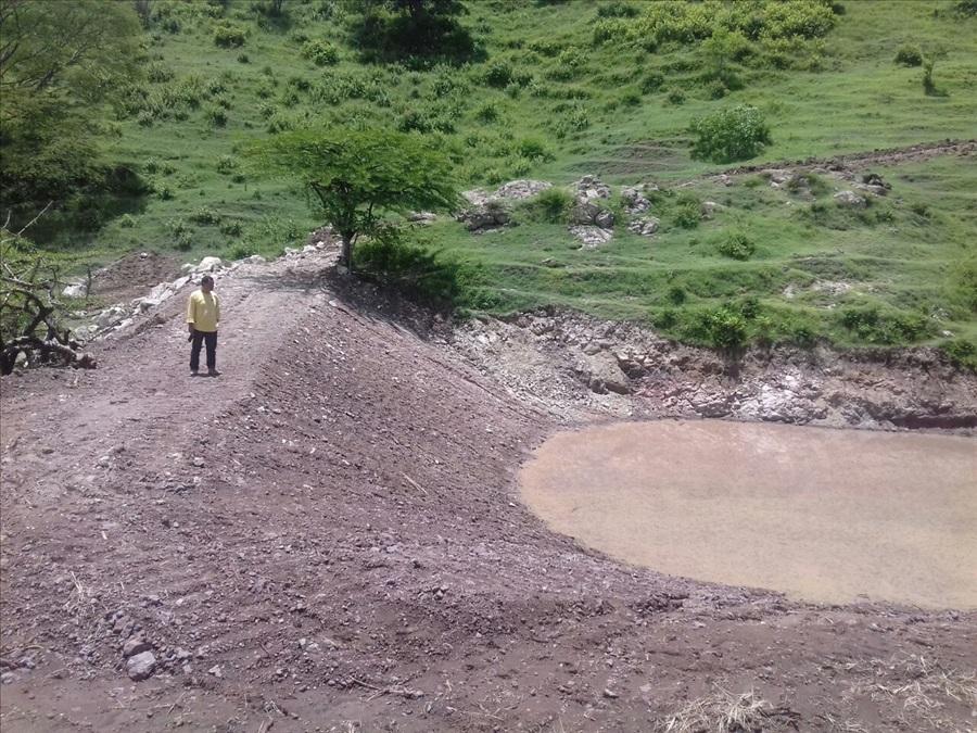 MOP inicia pavimentación de 500 metros de calle de El Sauce y  por concluir construcción de estanques de captación agua lluvia