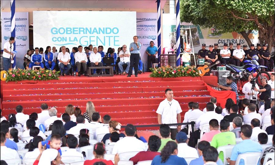 MOP invierte en obras en departamento de La Paz $10.3 millones