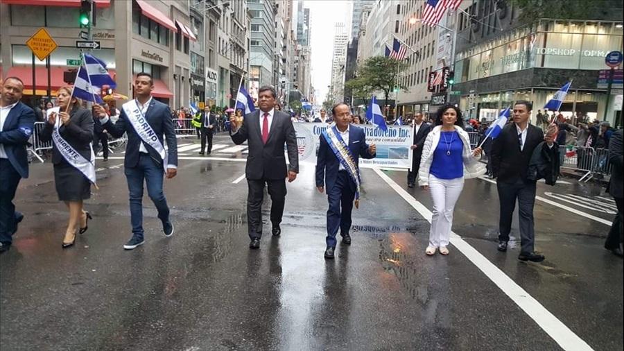 Ministro Gerson Martínez, Mariscal del Desfile de la Hispanidad en Nueva York