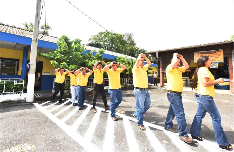 MOP realiza simulacro de evacuación ante terremoto