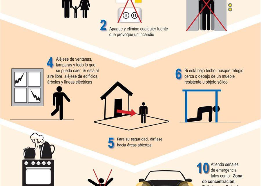 MOP participa en simulacro nacional ante terremoto para evitar victimas