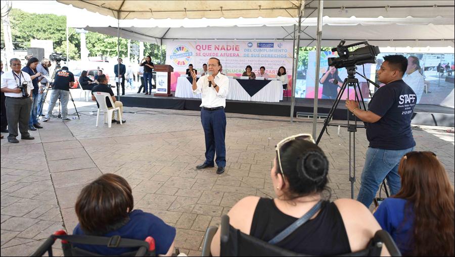 MOP participa en conmemoración del Día Nacional e Internacional de la persona con Discapacidad