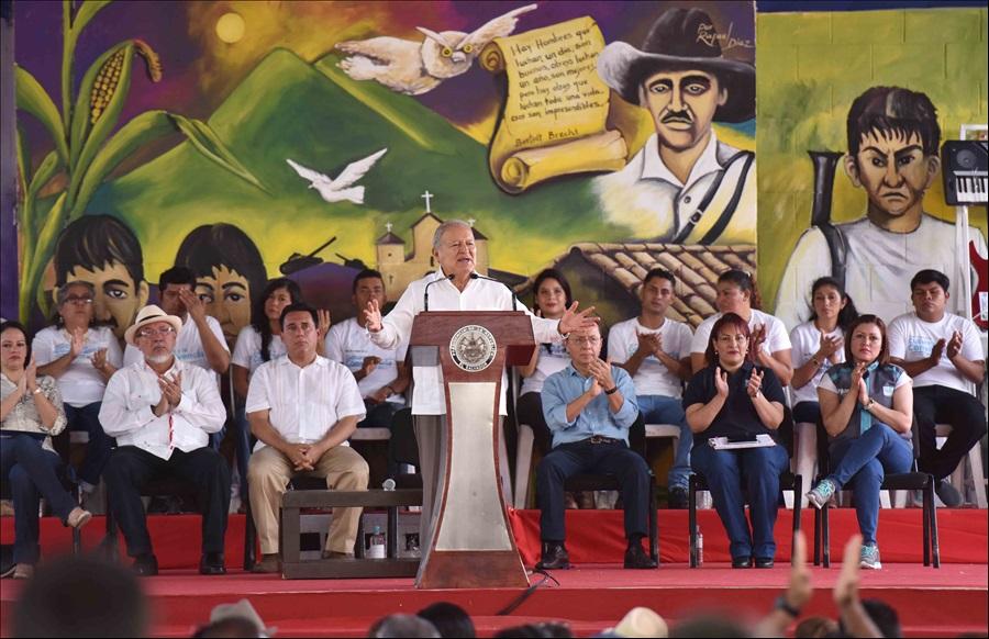 MOP y FOVIAL ejecutan obras en San Vicente por más de 13.9 millones
