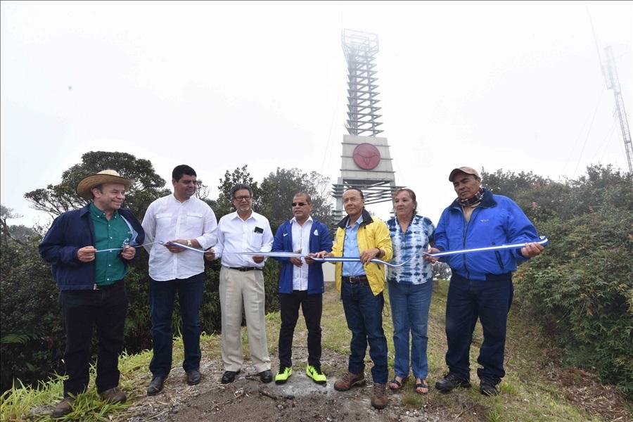 Inauguran Monumento a la Reserva de Biósfera Transfronteriza Trifinio Fraternidad