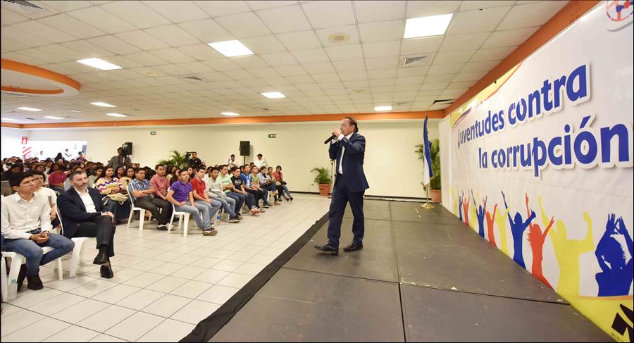"""En Semana de la Transparencia: MOP desarrolla Foro """"Jóvenes contra la Corrupción"""""""