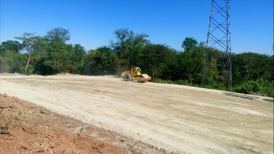 MOP avanza en obras de terracería para la construcción de Centros Temporales de Reclusión en convenio con Seguridad Pública