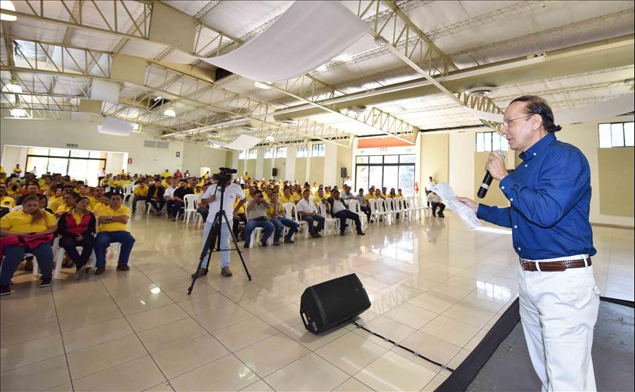 Autoridades MOP anuncian importantes beneficios para trabajadores