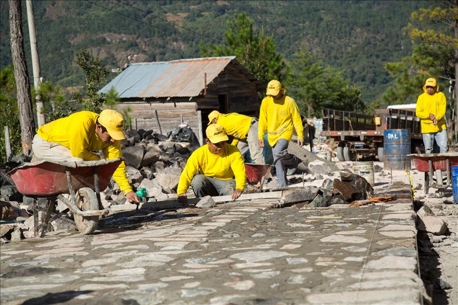 MOP mejora 12.5 kilómetros de la calle Cantón Tejera-Paso El Mono, Arambala, Morazán