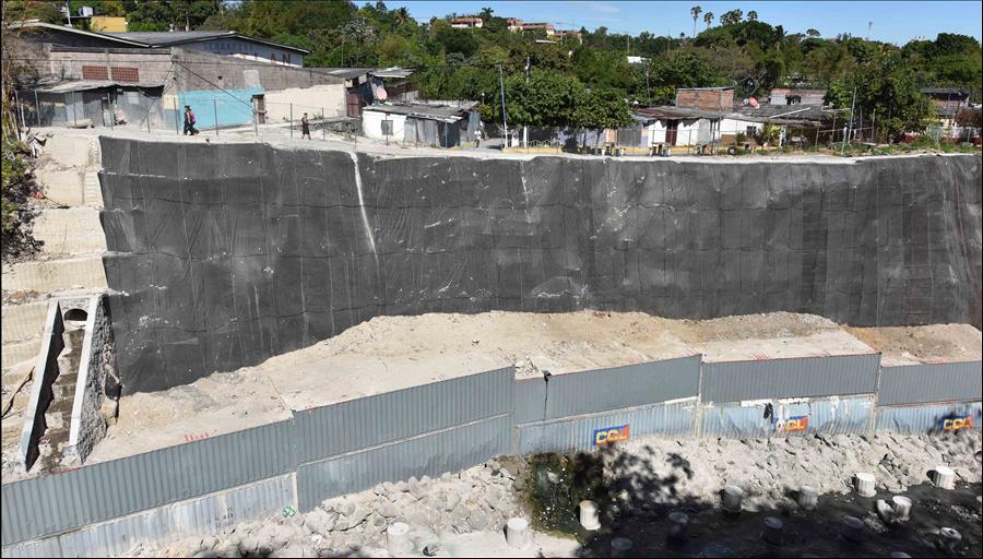 MOP concluye obras de protección en La Isla I, San Salvador