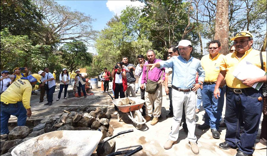 MOP por concluir proyecto Tramo: Victoria-Caserío Santa Marta, Cabañas